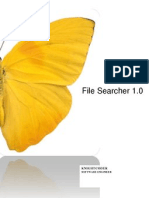 File Searcher 1.0