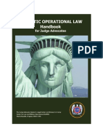 Domestic Operational Law Handbook for Judge Advocates, 2010
