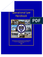 Domestic Operational Law Handbook for Judge Advocates, 2008