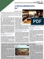 Artigo sobre a Assembleia Municipal de Sintra de 19 de Janeiro