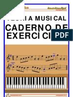 Cópia de Teoria Musical - Caderno Exercicio
