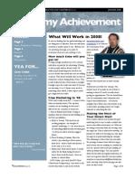 Newsletter Jan 08