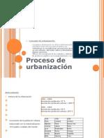 Concepto de urbanización