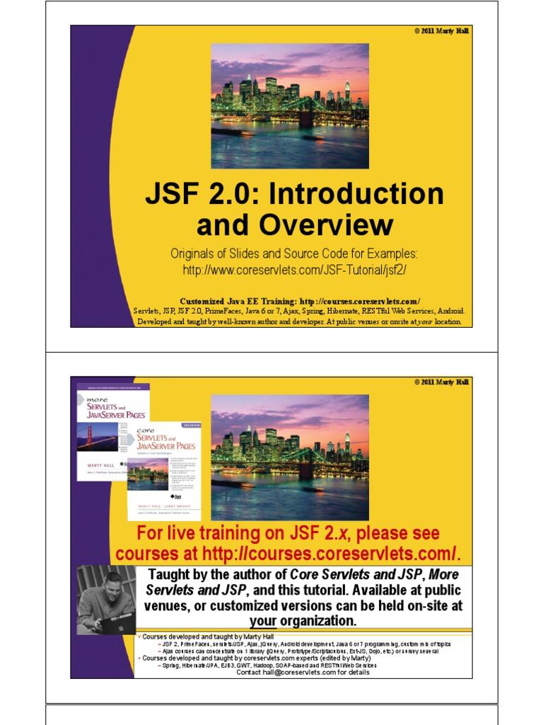 Jsf2 overview java server faces java server pages baditri Images