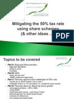 Pett - Mitigating the 50% Tax Rate
