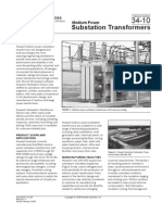 Medium Power Substation Transformers