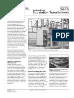 Medium Power Substation Transformers