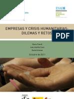 RSE.-Empresas y crisis humanitarias
