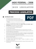 Senado08 Tecnico Legislativo Nm Processo Legislativo