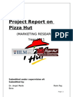 Project Report on Pizza Hut