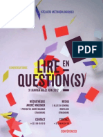Programme LeQ 2012-2
