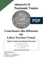 Sottoscrivi il Fondo Nazionale Veneto