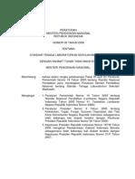 Permendiknas No. 26 Tahun 2008 - Standar Tenaga Laboratorium