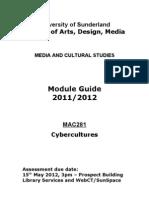 MAC281 Module Guide 2011-12