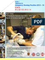 MSc and PgD in Pre Hospital and Emergency Care PHEC Programme 2012-14 - AENP_Booklet_2012-14