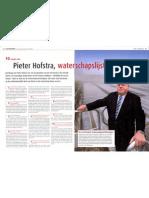 Pieter Hofstra, waterschapslijsttrekker (Forum 13 nov 2008)