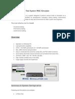 Artiza RNC Simulator[1]