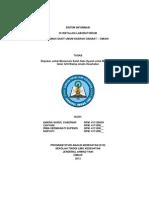 Sistem Informasi Laboratorium Patologi Klinik RSUD CIbabat