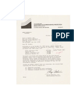 NYC 1985 Second Letter Fluoridation Costs