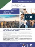 AILS séjours linguistiques | Bourse Plan Marshall