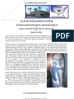 Tattoos Associated With the Barrio Azteca Gang