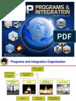 MDA - Programs and Integration Portfolio