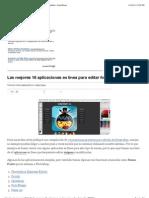 Las mejores 18 aplicaciones en línea para editar fotografías   GeeksRoom