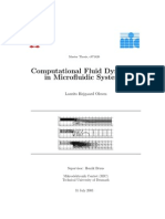 CFD - CFD in Microfluidic Systems - MATLAB Source Code
