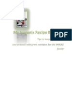 My Isagenix Recipe Books - Tips for your Isagenix weight loss and healthy recipes for the whole family