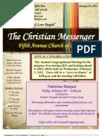 January 29 Newsletter