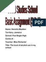 Questionnaire Navisha
