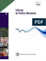 Informe Politica Monetaria - Chile