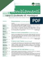 Notiziario CISL SONDRIO Definitivo