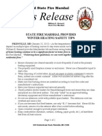 2012-01-23 Statewide Winter Heating Safety