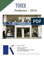 Listado Productos Katun