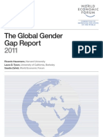 The Global Gender Gap Report 2011 WEF