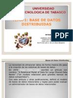 Expo Sic Ion de Base de Datos Distribuidas