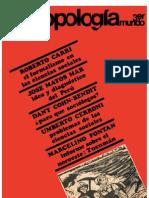 Antropología del Tercer Mundo, nº 01, noviembre 1968