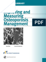 Improving and Measuring Osteoporosis Management (Executive Summary)