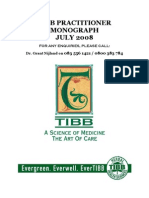 Tibb Practitioner Monograph - July 2008