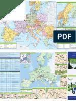 Eurail - Railwaymap - 2012