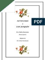 Novenario San Joaquin