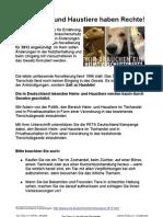 TT Petition Heim Haustiere 2012