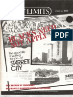 City Limits Magazine, October 1984 Issue