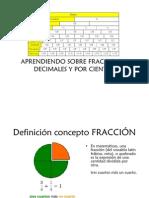 Fracciones cuarto B