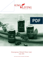 2010 Young Living Retail Pricelist