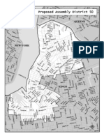 Proposed Assembly District 50