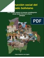 Construccion Social Del Estado Boliviano