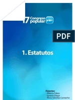 PONENCIA ESTATUTOS PARTIDO POPULAR SEVILLA 2012 17 CONGRESO