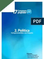 PONENCIA POLITICA PARTIDO POPULAR SEVILLA 2012 17 CONGRESO